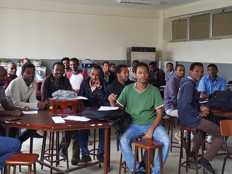 A successful conclusion to this summer's Ethiopia Programme