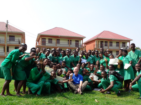 A volunteer's trip to Fort Portal International Nursing School (FINS), Uganda, March 2018