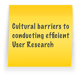 small-Cultural barriers to user research