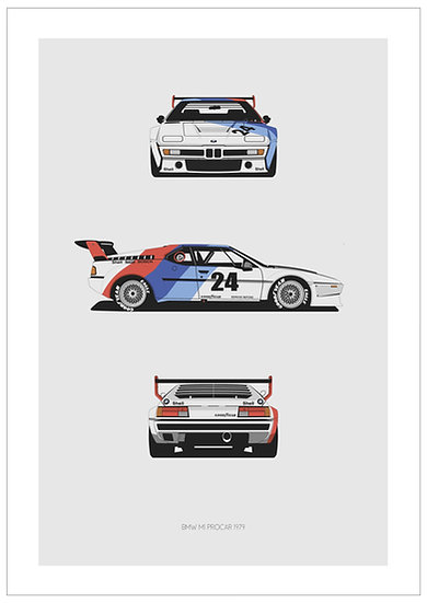 BMW M1 Procar Trilogy