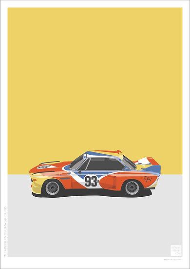 Alexander Calder BMW 3.0 CSL