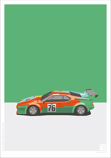 Andy Warhol BMW M1