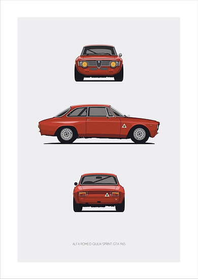 Alfa Romeo Giulia Sprint GTA Trilogy