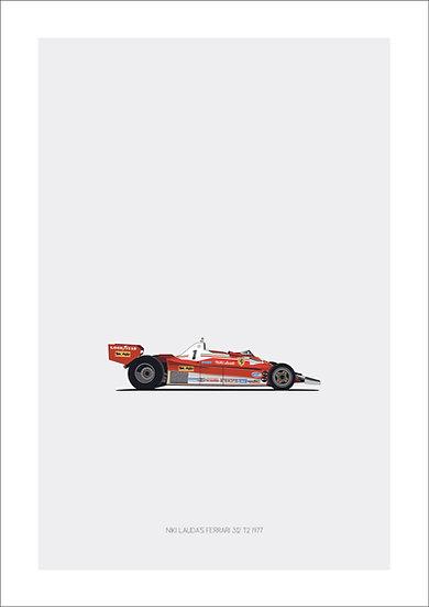 Ferrari 312 T2 Nicki Lauda