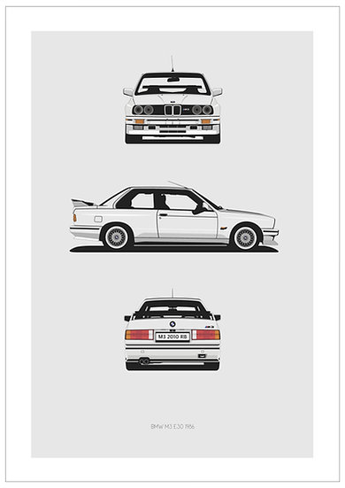 BMW M3 E30 Trilogy