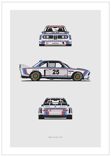 BMW 3.5 CSL Trilogy
