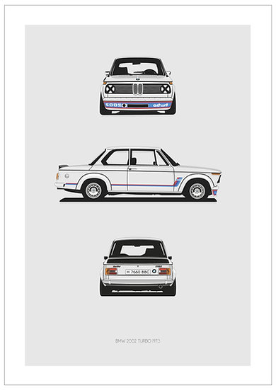 BMW 2002 Turbo Trilogy