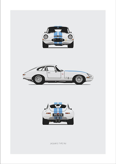 Jaguar E-Type Trilogy