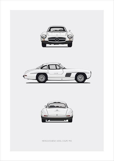 Mercedes 300SL Trilogy
