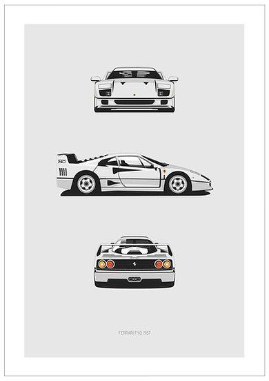 Ferrari F40 Trilogy