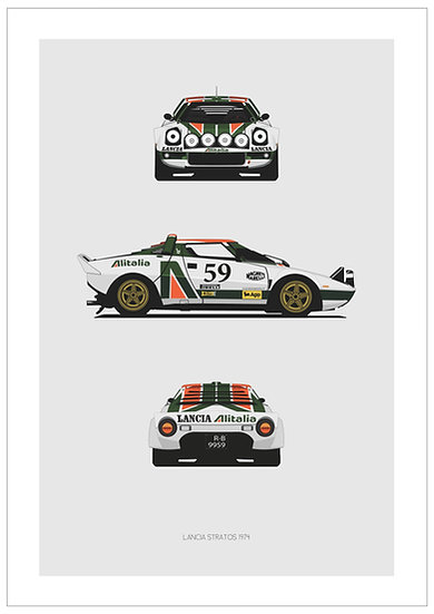 Lancia Stratos Trilogy