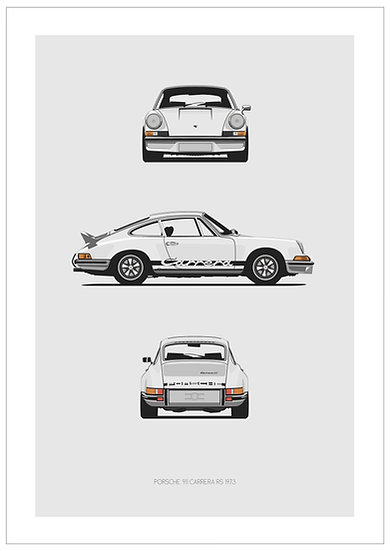 Porsche 911 Carrera RS Trilogy