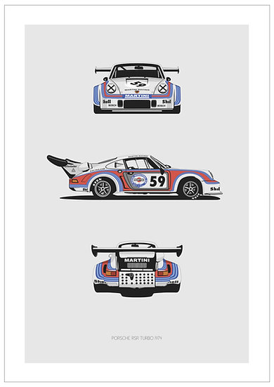 Porsche RSR Turbo Trilogy