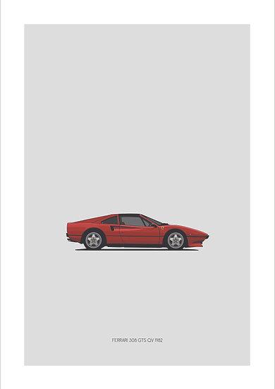 Ferrari 308 GTS QV 1982