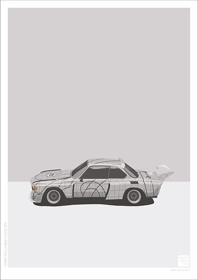 Frank Stella BMW 3.0 CSL