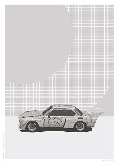 Frank Stella BMW 3.0 CSL V2