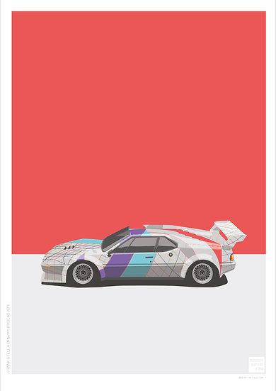 Frank Stella BMW M1