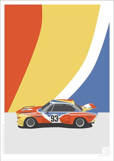 Alexander Calder BMW 3.0 CSL V2