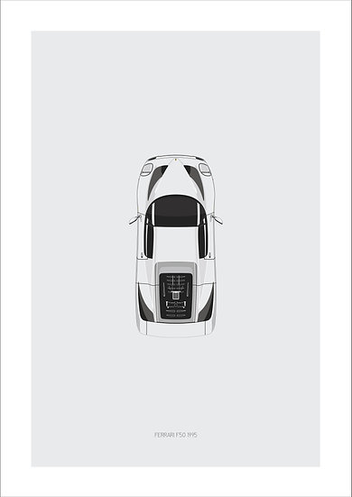 Ferrari F50 Top