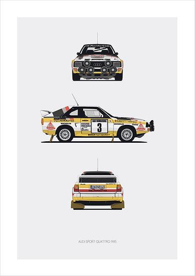 Audi Quattro Trilogy