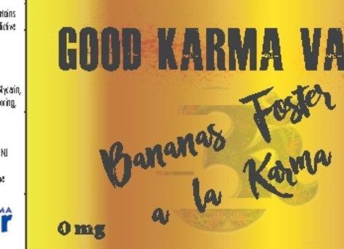 Bananas Foster a la Karma