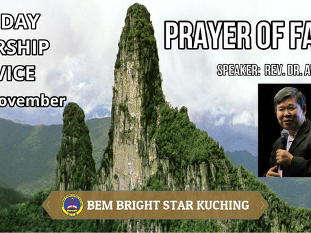 PRAYER OF FAITH BY REV DR ALFRED EE