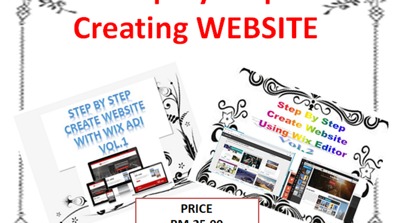 Step by Step Create Website With Wix ADI &Wix Editor Vol 1 & 2