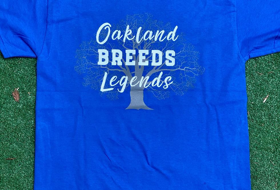 Oakland Breeds Legends - Blue
