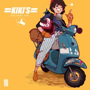 Kiki's Delivery App