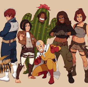 Team Avatar Halloween