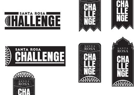 Santa Rosa Challenge mockups - 1