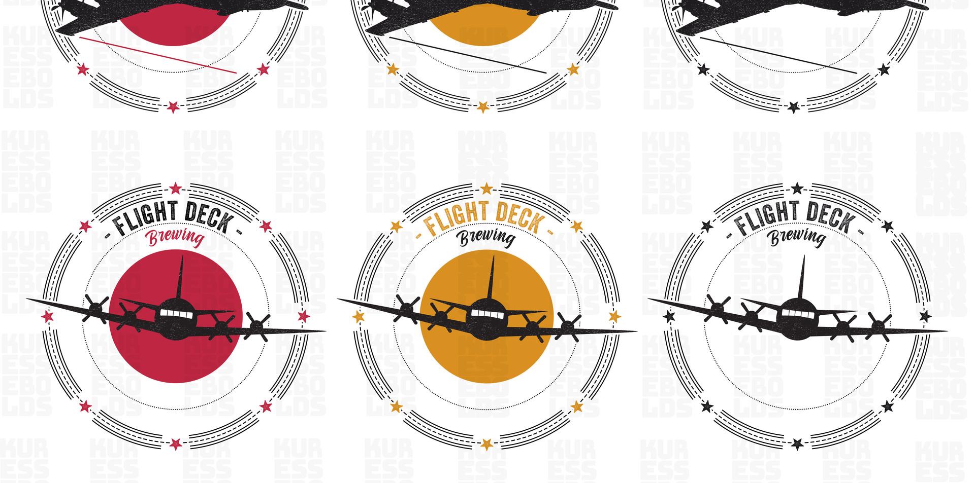 Flight Deck Brewing test logo - 1