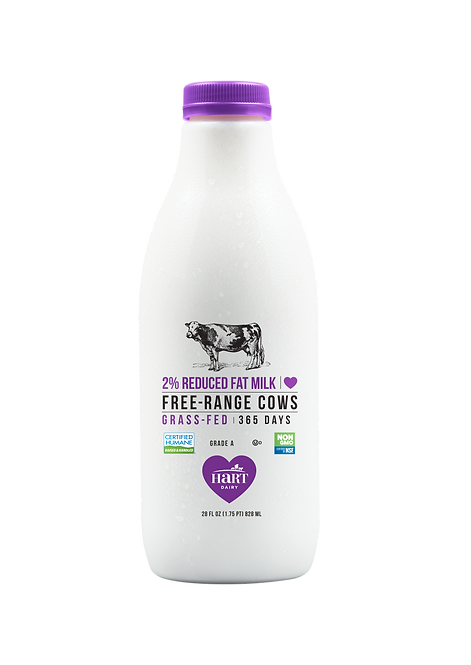 Hart Dairy 2% Reduced-Fat Milk