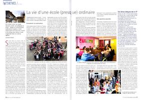 """L'école Sainte-Agnès est dans """"Enseignement Catholique Actualités"""" !"""