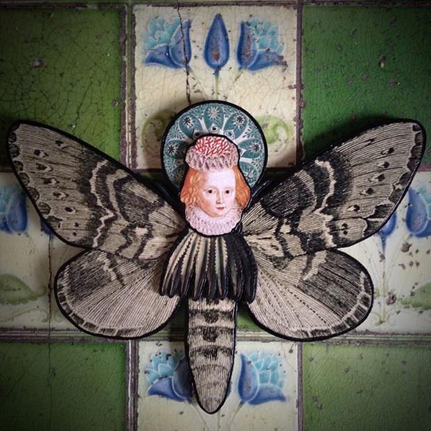 Human Moth