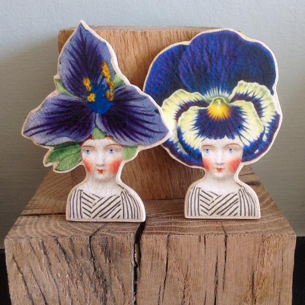 Iris & Pansy