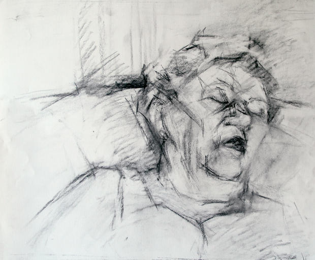 Sleeping aunt, 2010