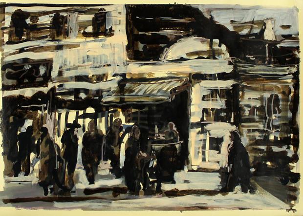 Jaffa street, 2016