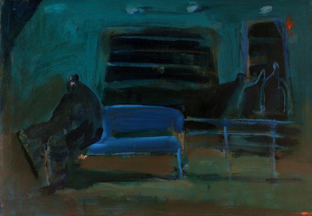 Blue bench, 2016