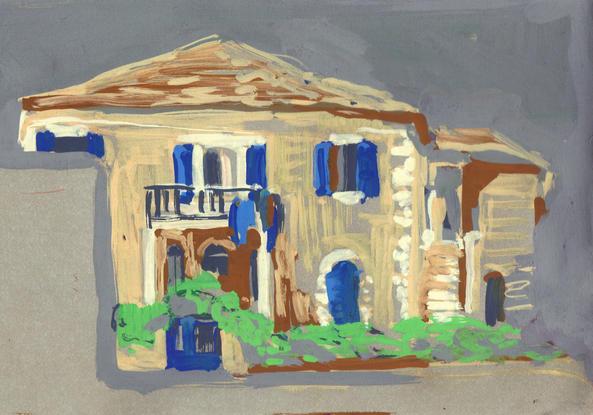 Blue shutters, 2014
