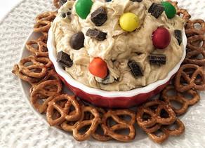 Dark Monster Cookie Dough Dip