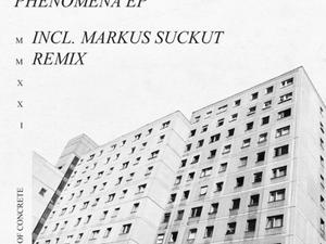 Rebar - Phenomena EP (Incl. Markus Suckut Remix) - made of CONCRETE