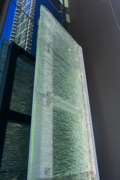 Fused Glass Monolithic Sculpture