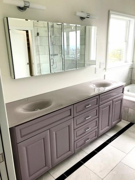 Integral Sink Vanity