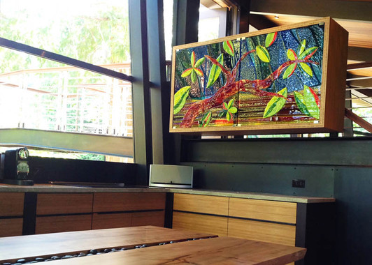 Glass Cabinet Art