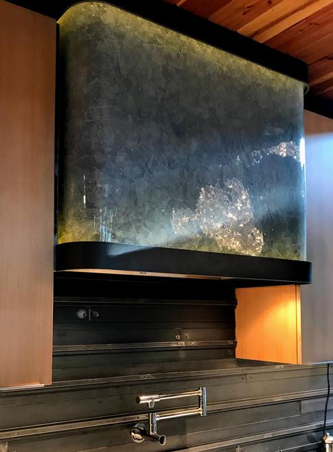 Bent Glass Vent Hood