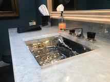Cast Glass Bathroom Vanity