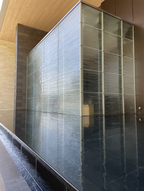 Fused Glass Facade