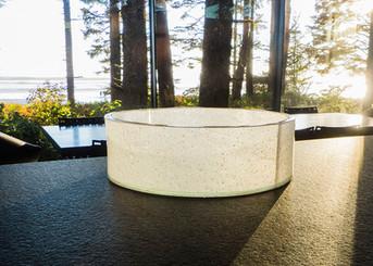 Custom Slumped Glass Bowl