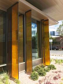 Exterior Glass Architectural Fins